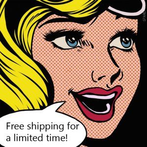 Free Shipping For a Limited Time!